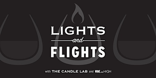 Lights & Flights with The Candle Lab and Wine on High