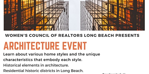 Women's Council of Realtors Architecture Seminar
