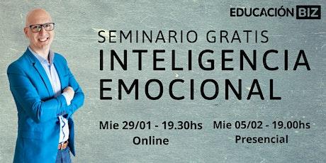 Seminario Gratis Inteligencia Emocional entradas