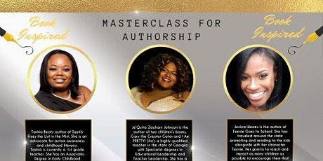 MasterClass for Authorship tickets