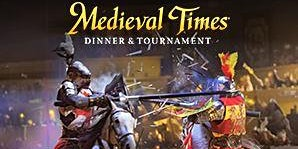 July 25, 2020 -Medieval Times Dinner & Tournament Bus Trip