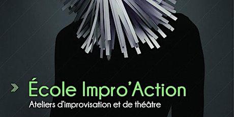 Stage improvisation (gratuit) tickets