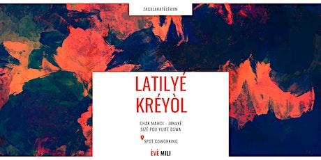 Latilyé Kréyòl èvè Mili / Cours de 2 heures billets