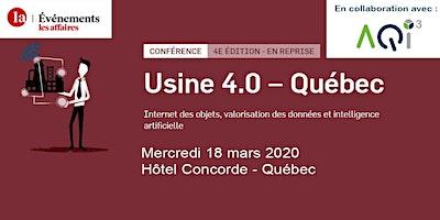 REPORTÉ - Conférence Usine 4.0 à Québec - Événements Les Affaires