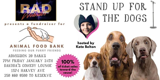 Rad Websites presents Stand Up for the Dogs