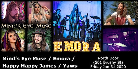 Mind's Eye Muse, Emora, Happy James, & Yaws @ The North Door tickets