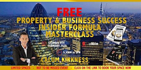 FREE Property & Business Success Masterclass tickets