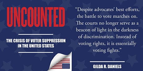 Uncounted: The Crisis of Voter Suppression in the United States tickets