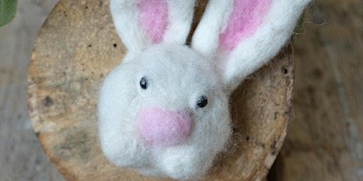 Needle Felted Bunny Workshop