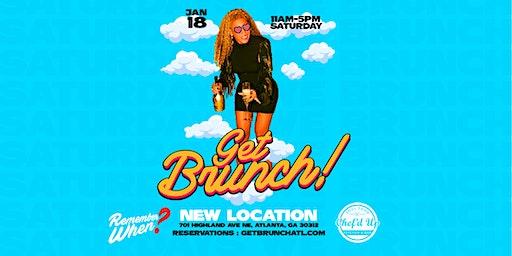 GET BRUNCH! : MLK WEEKEND *NEW LOCATION*