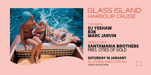 Glass Island - Saturday Sunset Cruise feat. Marc Jarvin