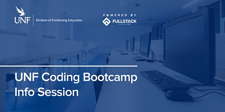 In-Person Info Session | The Coding Bootcamp at UNF tickets