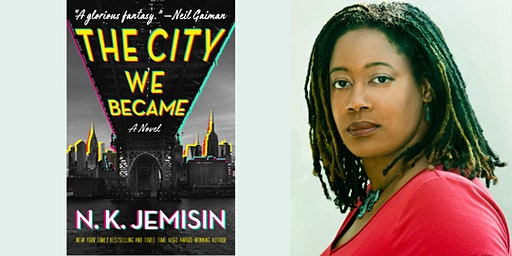 N.K. Jemisin Signs The City We Became