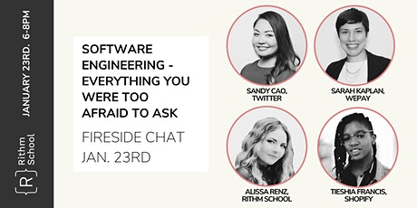 Women In Tech - Software Engineering: Everything You Were Too Afraid To Ask tickets