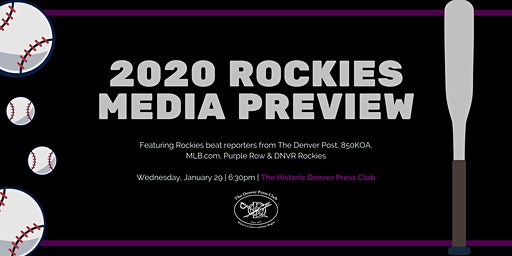 Media Preview of the Colorado Rockies' 2020 season