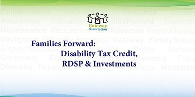 Disability Tax Credit, RDSP and Investments