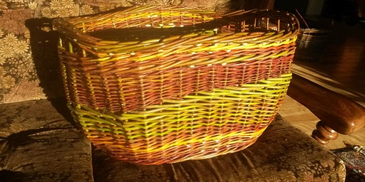 Laundry Basket Weaving with Willow for 2