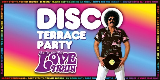 Brutus Gold's Love Train - Disco Terrace Party - Middlesbrough