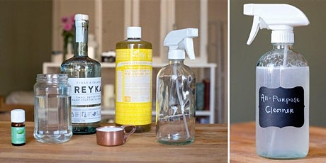 Zero Waste Workshop: DIY home cleaning products tickets