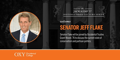 Senator Jeff Flake at Occidental College tickets