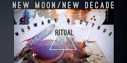 New Moon/New a Decade: Mugwart & Citrus Ritual