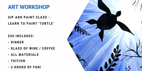Learn to paint turtle! tickets