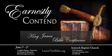 2020 Antioch Bible Conference tickets