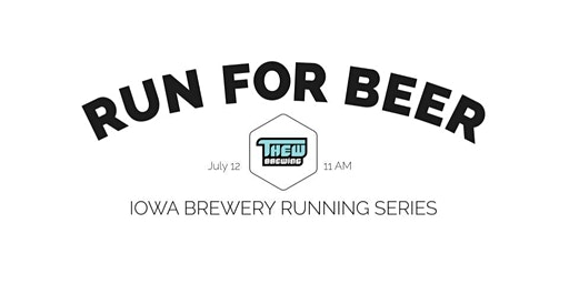 Beer Run - Thew Brewing | Part of the 2020 Iowa Brewery Running Series