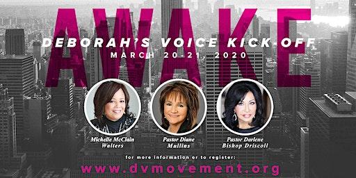 Deborah's Voice Kick-Off Rally