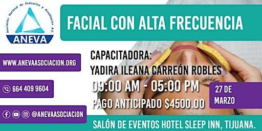 """CURSO """"FACIAL CON ALTA FRECUENCIA"""""""