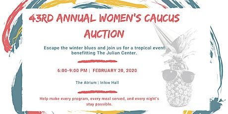 43rd Annual Women's Caucus Auction tickets