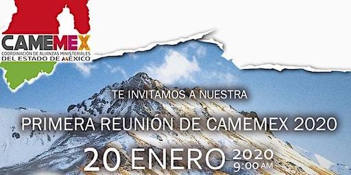 1ra Reunión  de CAMEMEX 2020