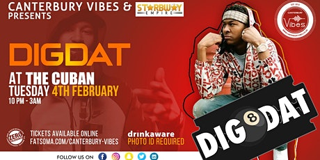 DigDat Live PA at The Cuban Canterbury tickets