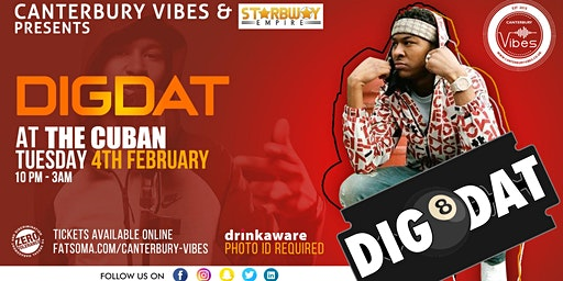 DigDat Live PA at The Cuban Canterbury