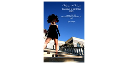 Countdown to Mardi Gras 2020 Open House at Visions of Venice