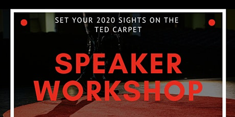 TEDx Oronoco Bay Park Speaker's Workshop tickets