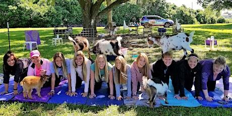 Goat Yoga Katy - Sat, January 25 @ 10:30 AM tickets