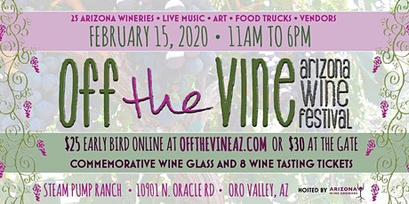 Off the Vine Arizona Wine Festival 2020 tickets