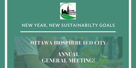Ottawa Biosphere Eco-City's 2020 Annual General Meeting! tickets