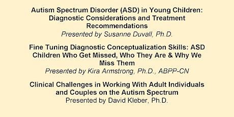 Autism Spectrum Disorders tickets