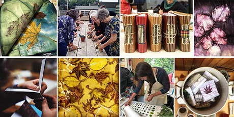 Eco-print, Dye & Stitch: a creative workshop weekend tickets