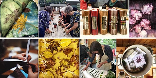 Eco-print, Dye & Stitch: a creative workshop weekend