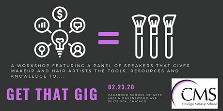 Get That Gig! Business Tools for Makeup Artists tickets