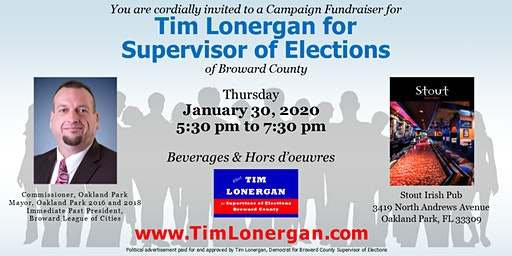 Tim Lonergan Campaign Reception