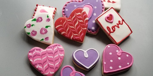 Valentines Day Cookie Decorating Class