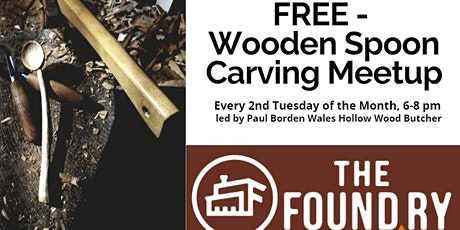 Wooden Spoon Carving Meetup @The Foundry tickets