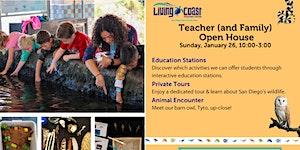 Living Coast Teacher Open House