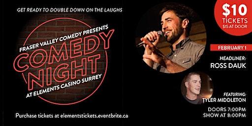 Comedy Night at Elements Casino Surrey