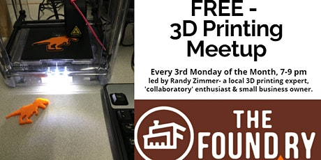 3D Printing Meetup @The Foundry tickets