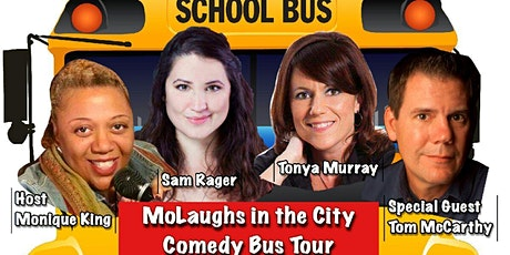 MoLaughs in the City Comedy Bus Tour tickets